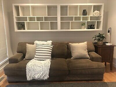 AU100 • Buy 3 Seater Couch - Warwick Fabric PLUSH Couch