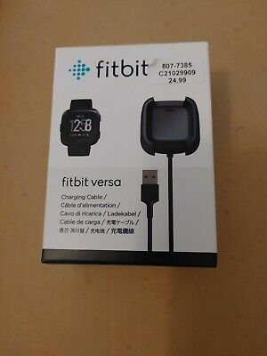 $ CDN18 • Buy Genuine Fitbit Versa OEM Charging Cable Cord Dock Authentic Charger Fit Bit