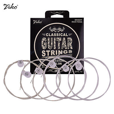 $ CDN10.45 • Buy ZIKO DPA-70 Classical Guitar Strings(.028-.043)Tension Silver Wound Nylon G1Z4
