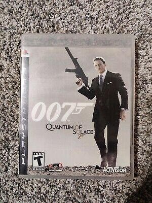 $16.95 • Buy Bond 007: Quantum Of Solace Ps3 Playstation 3