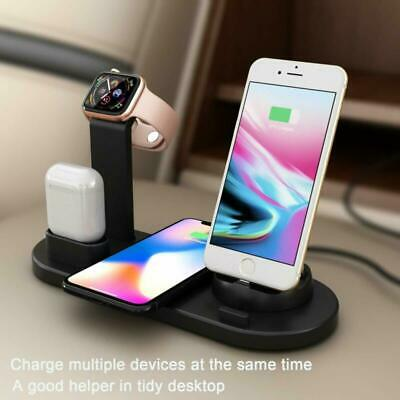AU21.89 • Buy 3in1 QI Wireless Charger Charging Station Dock For Apple Watch / IPhone/ AirPod