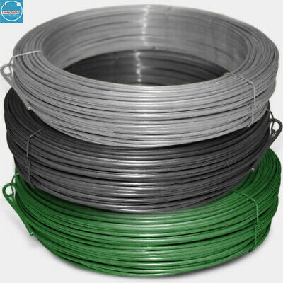£9.25 • Buy Garden Wire Fencing Chain Link Binding Fence PVC Steel Tension Straining Line UK