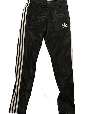 £55 • Buy Adidas Chile Wet Look  Track Glanz  Nylon Pants Shiny 28 W  Gloss Vtg Cal Surf