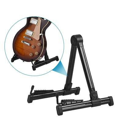 $ CDN33.55 • Buy Guitar Floor Stand Electric And Acoustic Hanger Folding Mount Rack Metal Bass