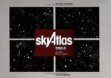 Sky Atlas 2000.0: Twenty-Six Star Charts, Covering Bo... | Book | Condition Good • 58.38£