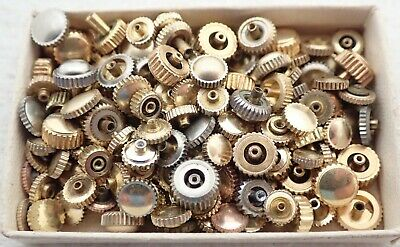$ CDN12.49 • Buy Lot Vintage Gold Filled Wristwatch Watch Case Movement Crowns Parts