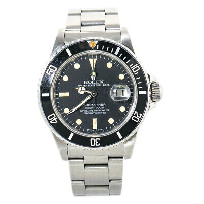 $ CDN13945.17 • Buy Rolex Submariner 16800 Vintage Men's Automatic Watch Stainless Matte Dial 40MM