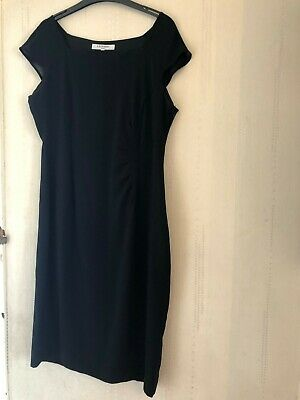AU46.43 • Buy LK Bennett Black Dress Size 14 Little Smart Every Occasion Work Classic Stylish