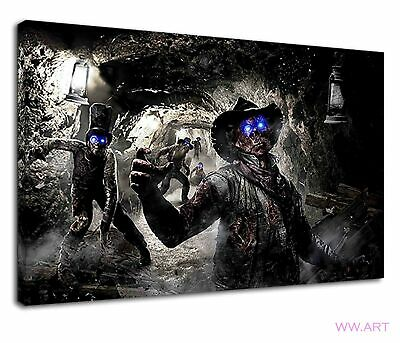 £34.99 • Buy Call Of Duty Zombies Digital Illustration Canvas Wall Art Picture Print
