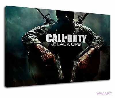 £34.99 • Buy Call Of Duty Cod Black Ops Gamer Gaming Pc Game Canvas Wall Art Picture Print
