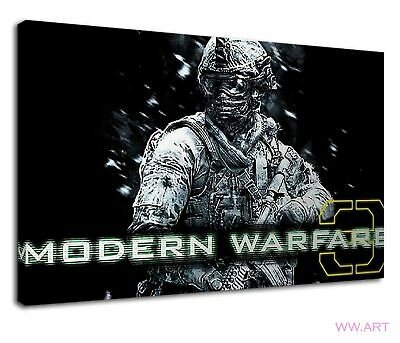 £38.99 • Buy Call Of Duty Modern Warfare For Boys Bedroom Canvas Wall Art Picture Print