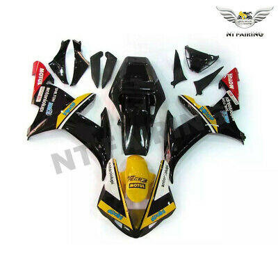 $499.99 • Buy WOO Fit For Yamaha R1 YZF 02-2003 Black Injection ABS Fairing Plastics Kit E047