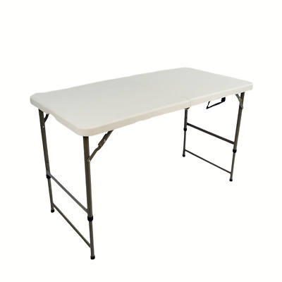 £44.99 • Buy 5FT Catering Camping Heavy Duty Folding Trestle Table Picnic BBQ Party