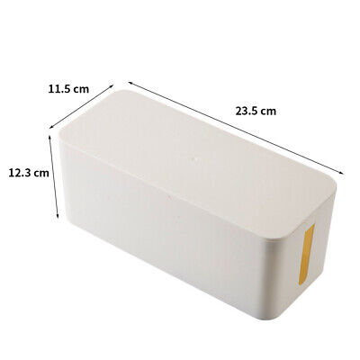 Safety Electrical Cable Box Wire Tidy Management Large Capacity Protection  #G03 • 11.27£