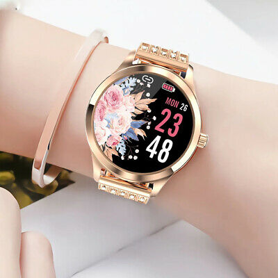 AU66.99 • Buy Women Lady Smart Watch Heart Rate Blood Pressure Fitness Tracker For IOS Android