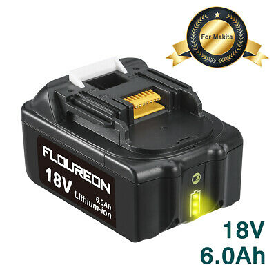 £21.99 • Buy 18V 6.0Ah Lithium-ion Replacement Battery For Makita BL1815 BL1830 BL1850 BL1860