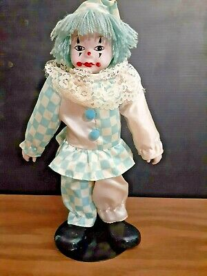 $ CDN16.28 • Buy Porcelain Doll Brinn's Vintage 1990 Clown Musical Collectible Dolls