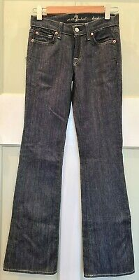 AU50 • Buy 7 For All Mankind Women's Jeans Blue Size 24 Bootcut, Cut 721101