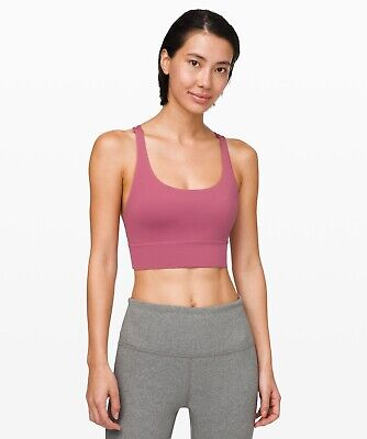 $ CDN70.36 • Buy NWT Lululemon Energy Bra Long Line ~SIZE:6,8,10,12~Moss Rose
