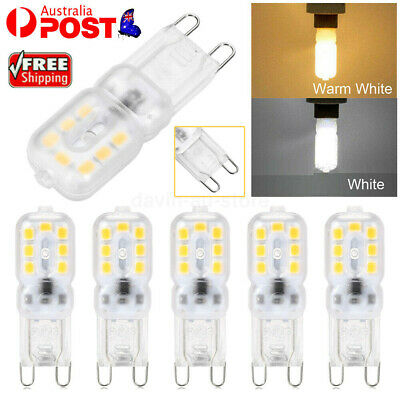 AU15.21 • Buy G9 LED 3W Dimmable Capsule Bulb Replace Halogen Light Lamps AC220-240V Warm/Cool