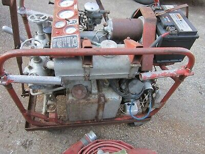 £375 • Buy Coventry Climax Fire Pump.