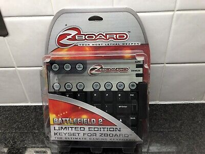 £19.99 • Buy Battlefield 2 Limited Edition Gaming Keyset For Zboard Boxed New Gaming Keyboard