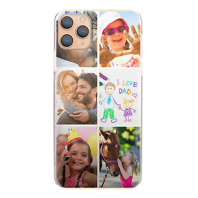 £5.49 • Buy Personalised Phone Case For  IPhone 11/12/MAX/XR/X, 1-6 Photo Collage Hard Cover