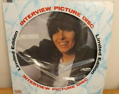 The Pretenders Limited Edition Interview Picture Disc Excellent Condition • 9.99£