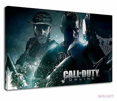 £34.99 • Buy Call Of Duty Game Characters Digital Illustration Canvas Wall Art Picture Print
