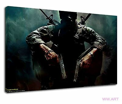£34.99 • Buy Call Of Duty Black Ops 3 Digital Illustration Canvas Wall Art Picture Print