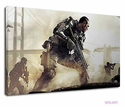 £34.99 • Buy Call Of Duty Advanced Warfare For Boys Bedroom Canvas Wall Art Picture Print