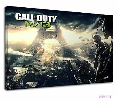 £38.99 • Buy Call Of Duty Mw3 Concept Art For Boys Bedroom Canvas Wall Art Picture Print