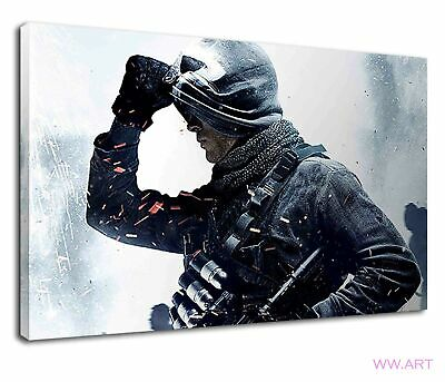 £38.99 • Buy Call Of Duty Ghosts Digital Illustration Canvas Wall Art Picture Print