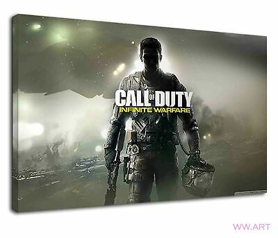 £38.99 • Buy Call Of Duty Infinite Warfare Gaming Concept Art Canvas Wall Art Picture Print