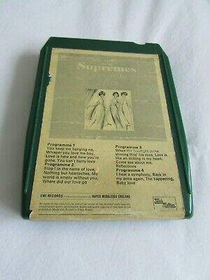 AU6.97 • Buy 8 Track. Diana Ross And The Supremes.