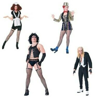 $ CDN40.26 • Buy Adult Mens Womens Rocky Horror Show Costumes Fancy Dress Halloween Outfits