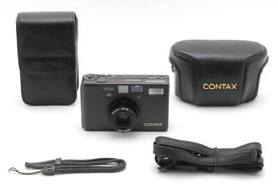 $ CDN2694.37 • Buy 【MINT In Semi Hard Case】 Contax T3 Titanium Black 35mm Camera Ship By DHL JAPAN