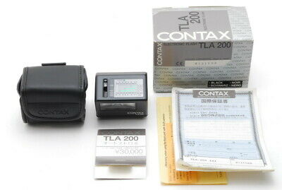 $ CDN499.91 • Buy 【UNUSED In Box】 Contax TLA 200 Black Shoe Mount Flash For G1 G2 From JAPAN #b58