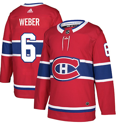 $ CDN99.95 • Buy Men's Montreal Canadiens Shea Weber Adidas Red Authentic Player - Jersey Size 44