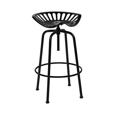 AU132.32 • Buy Artiss 1x Kitchen Bar Stools Tractor Stool Chairs Industrial Vintage Retro Swive