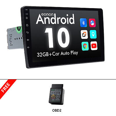 AU334.51 • Buy OBD+Latest Android 10 9  IPS LCD Car Stereo Head Unit GPS Navigation DSP CarPlay