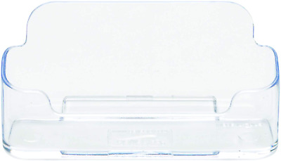 £2.99 • Buy Desktop Business Card Holder Dispensers Counter Display Stands Clear