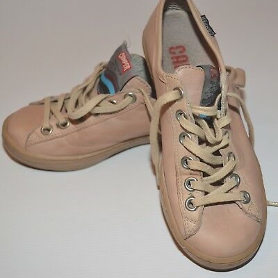 £60 • Buy Camper Imar Blush Leather Trainers Sneakers Sailing Shoe Euro 36 Uk 3 Cost £130