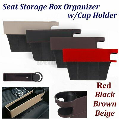 £9.69 • Buy Multi-functional Car Seat Gap Storage Box Pocket Organizer Card Cup Holder UK