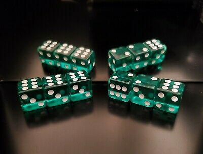 £461.40 • Buy **NEW** Loaded Dice Weighted 4/5/6s For Cee-lo With Fronts (Medium 75%)