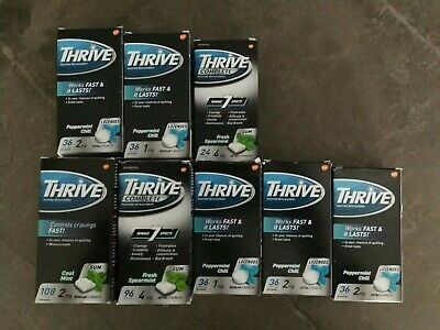 $ CDN79.99 • Buy Mixed Lot Thrive Nicotine Lozenges Gum 2mg + 4mg Total 408 Pieces