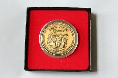 $ CDN251.77 • Buy Anheuser-Busch NEW Collectors Coin Solid Bronze CLYDESDALE WAGON & HITCH! LTD ED