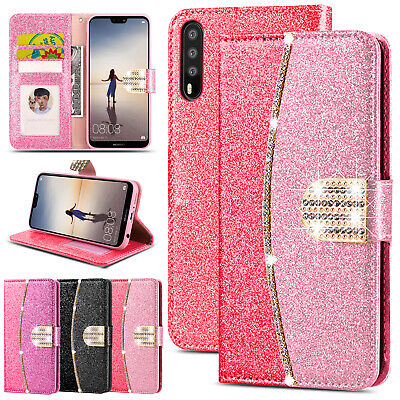 £2.99 • Buy For Huawei P30 Lite P20 Mate 20 Pro Luxury Leather Wallet Flip Phone Case Cover