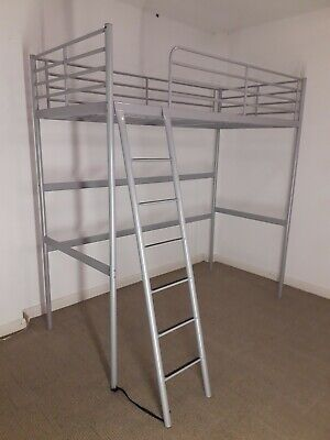 £60 • Buy Ikea Silver Bunk Bed Frame And Ladder Excellent Condition