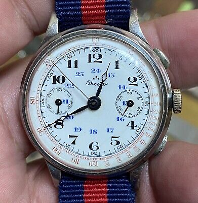 $ CDN1248.55 • Buy Vintage Rare Perseo Valjoux Chronograph Watch Working Condition,serviced